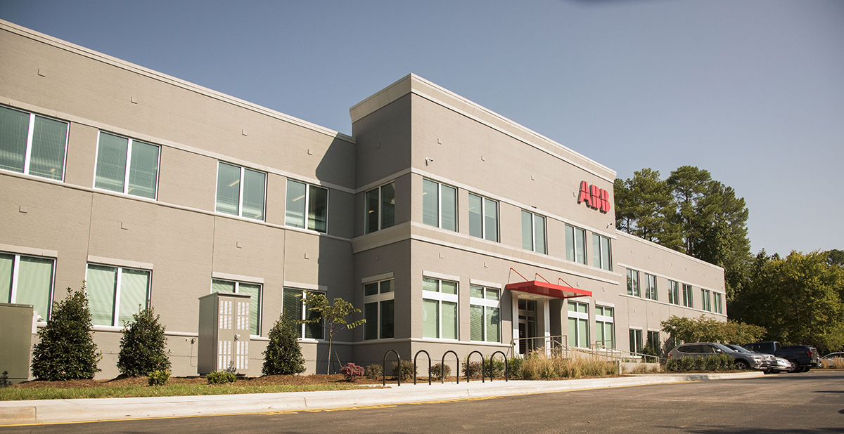 ABB America headquarters in Cary, North Carolina
